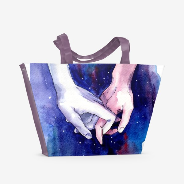 Пляжная сумка «В космосе»