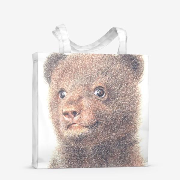 Сумка-шоппер «Миша,медвежонок»