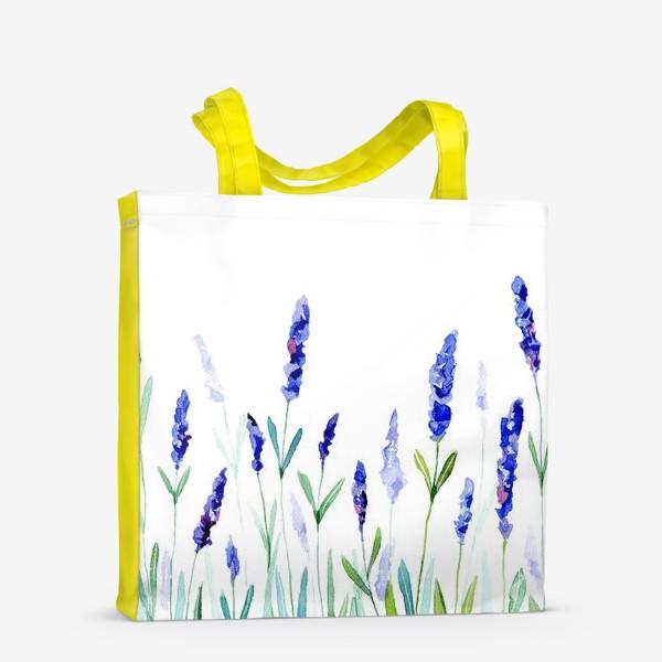 Сумка-шоппер «Лавандовое поле»
