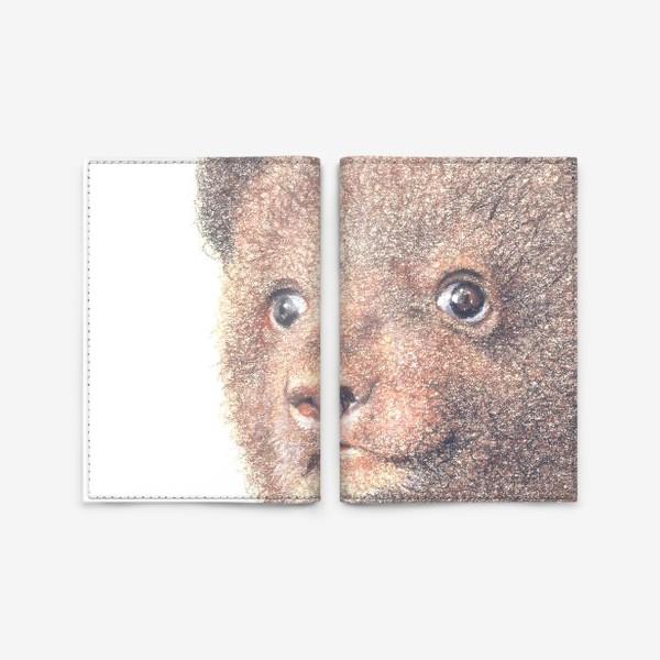 Обложка для паспорта «Миша,медвежонок»