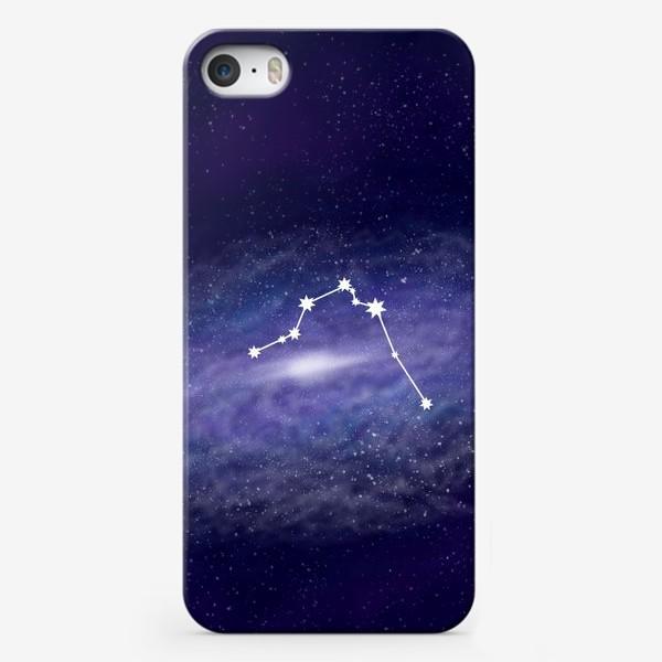 Чехол iPhone «Созвездие Водолей. Галактика»