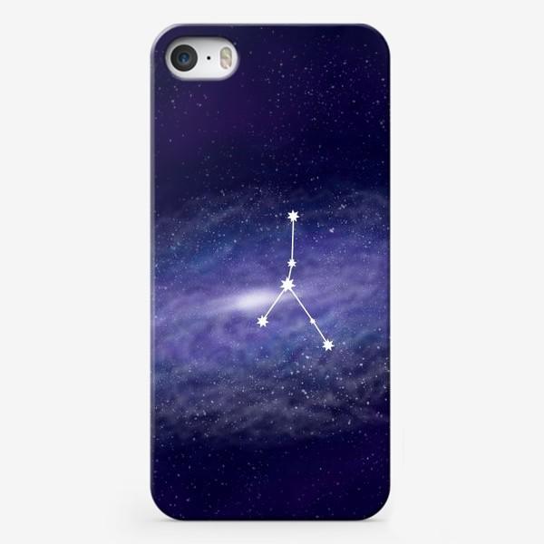 Чехол iPhone «Созвездие Рак. Галактика»
