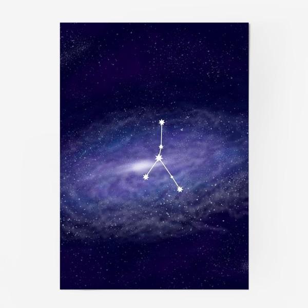 Постер «Созвездие Рак. Галактика»