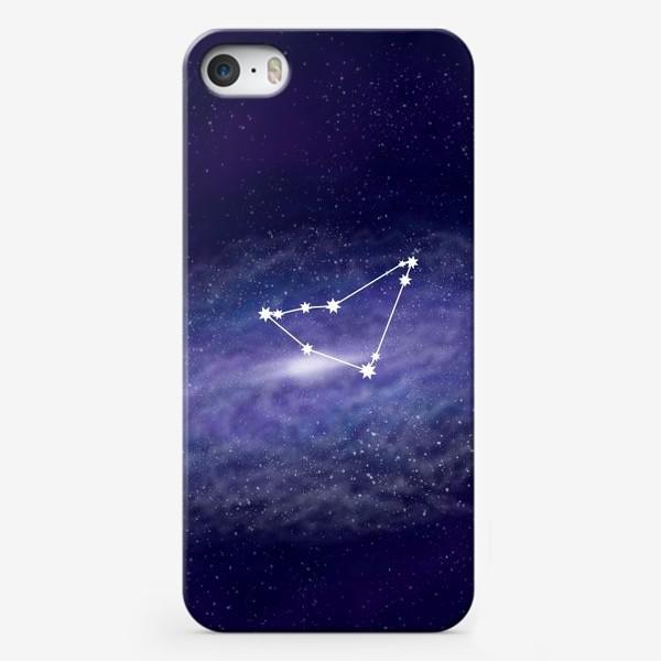 Чехол iPhone «Созвездие Козерог. Галактика»