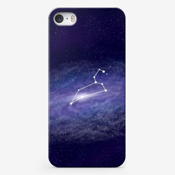 Чехол iPhone «Созвездие Лев. Галактика»