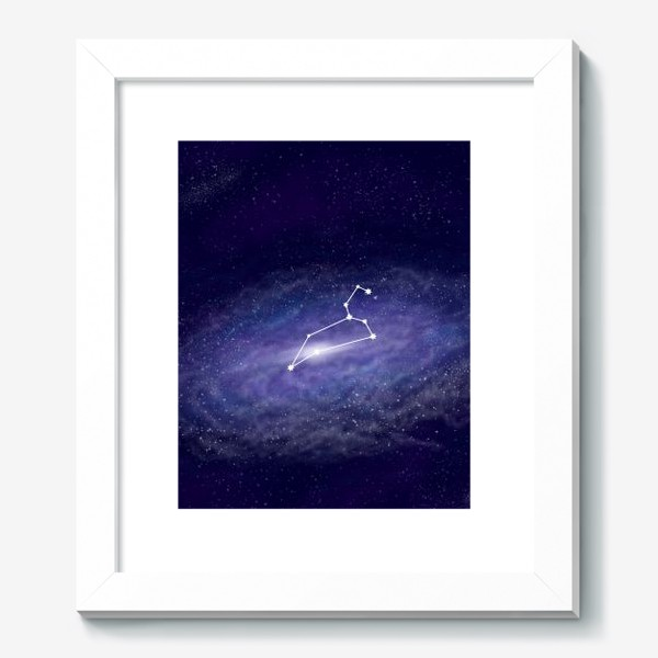 Картина «Созвездие Лев. Галактика»