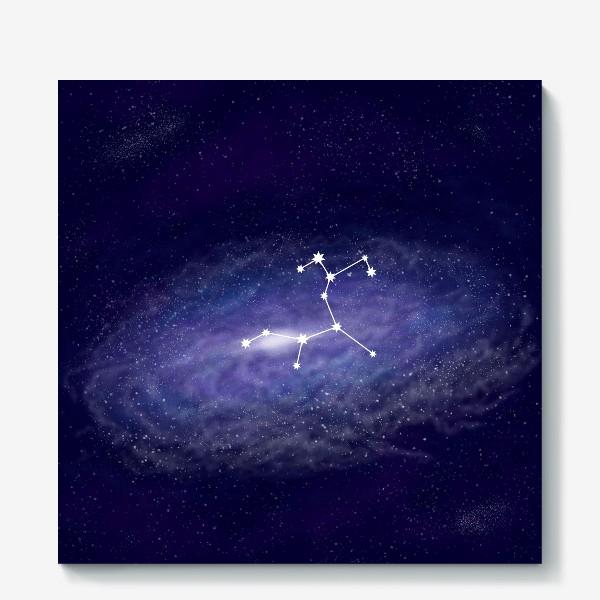 Холст «Созвездие Стрелец. Галактика»