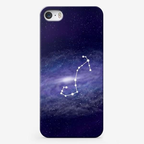 Чехол iPhone «Созвездие Скорпион. Галактика»