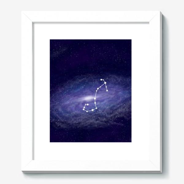 Картина «Созвездие Скорпион. Галактика»