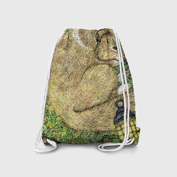 Рюкзак «Собака и ворон»