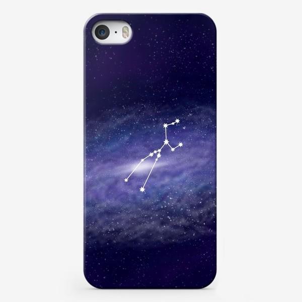 Чехол iPhone «Созвездие Телец. Галактика»