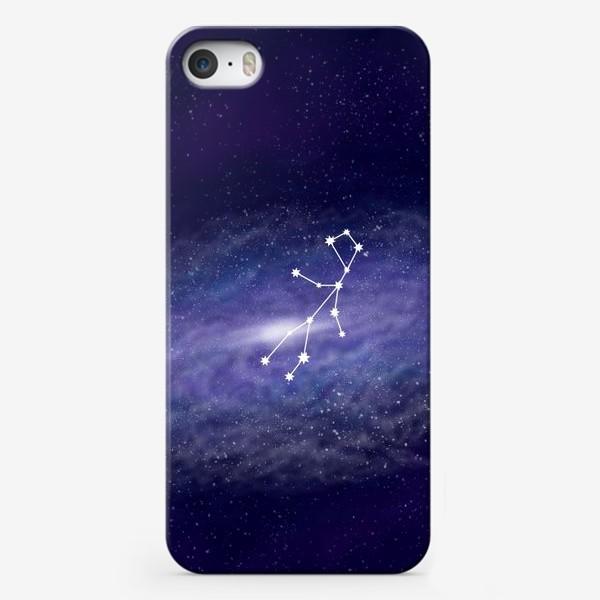 Чехол iPhone «Созвездие Дева. Галактика»