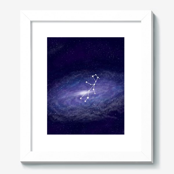 Картина «Созвездие Дева. Галактика»