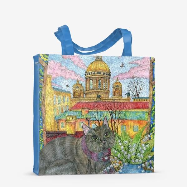 Сумка-шоппер «Весна в Петербурге»