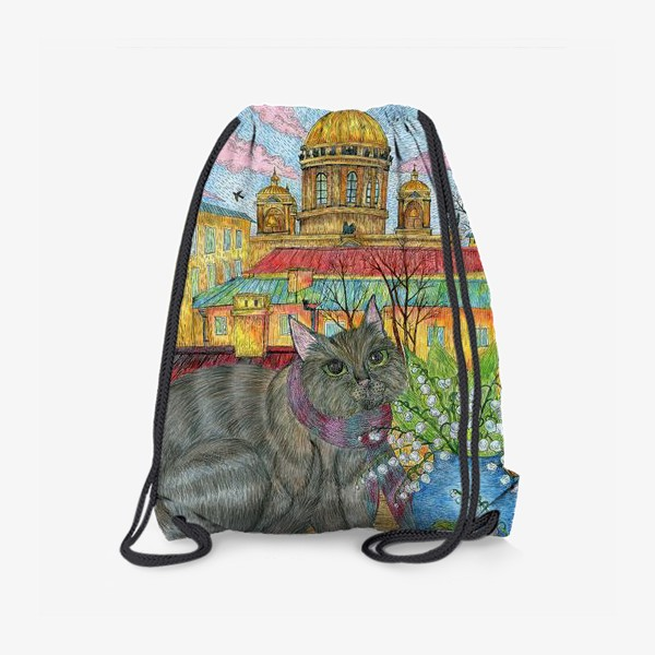 Рюкзак «Весна в Петербурге»