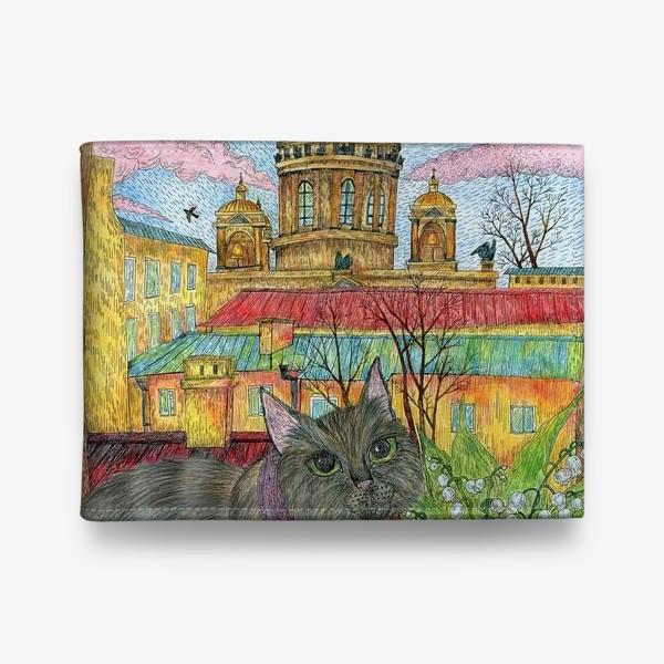 Кошелек «Весна в Петербурге»