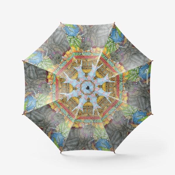 Зонт «Весна в Петербурге»