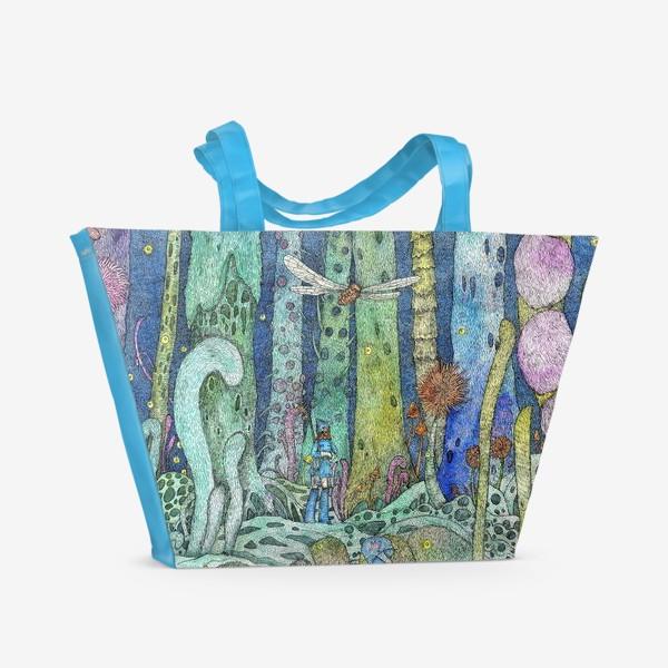 Пляжная сумка «Навсикая из долины ветров»