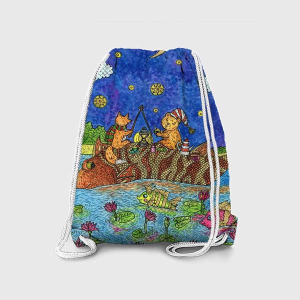 Рюкзак «Лисенок и мишка»