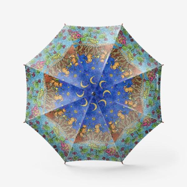 Зонт «Лисенок и мишка»