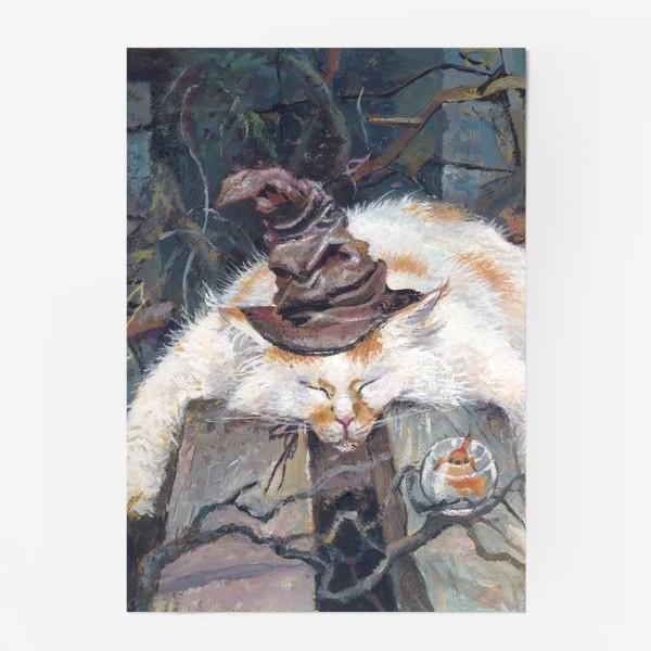 Постер «Волшебник,кот»