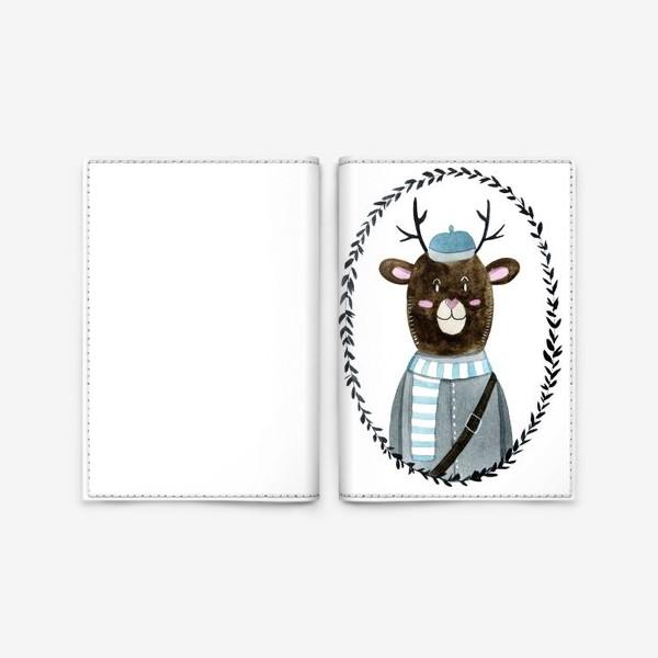 Обложка для паспорта «Олешек»