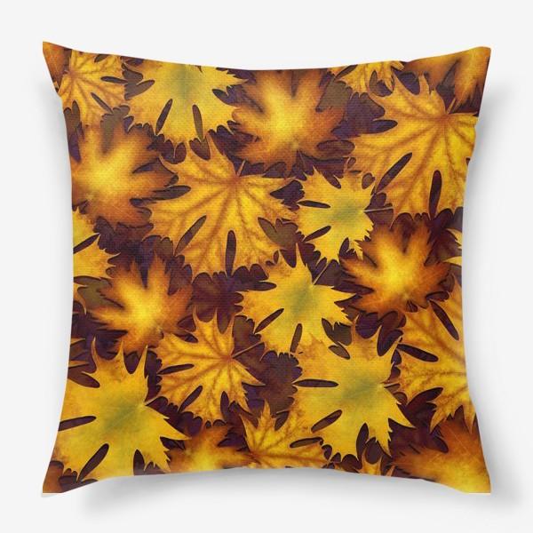 Подушка «листопад»