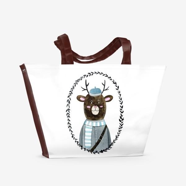 Пляжная сумка «Олешек»
