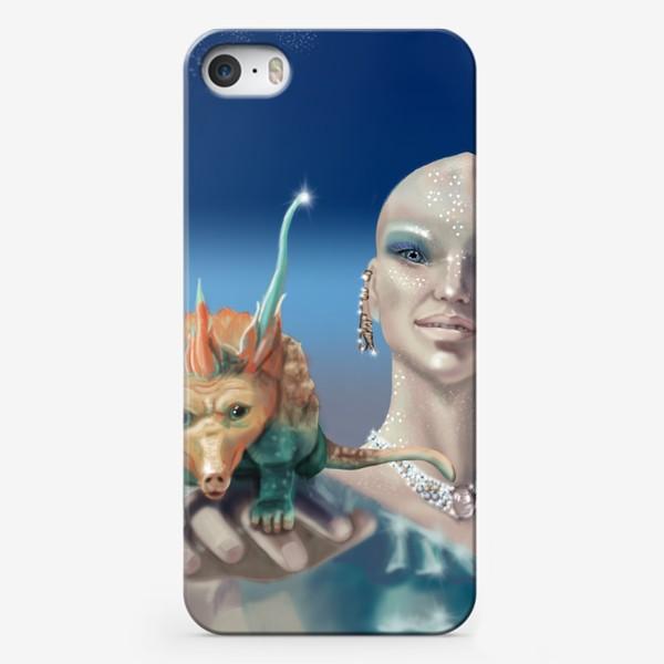 Чехол iPhone «Принцесса перлов планеты мю »