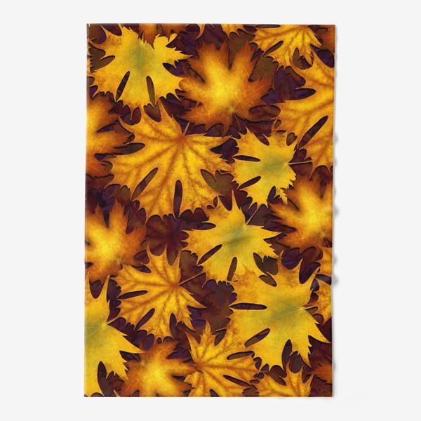Полотенце «листопад»