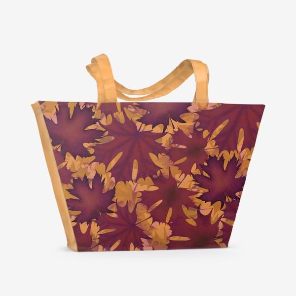 Пляжная сумка «листопад»