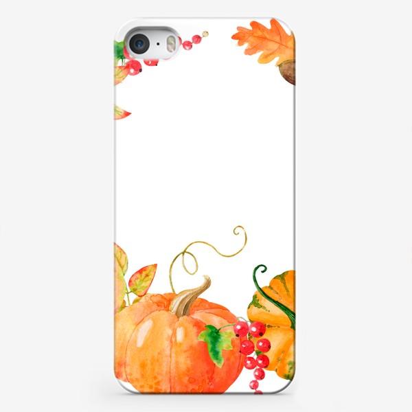 Чехол iPhone «Плоды осени»