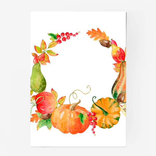 Постер «Плоды осени»