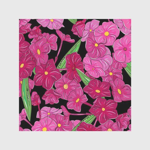 Скатерть «цветы флоксы»