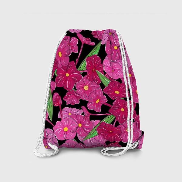 Рюкзак «цветы флоксы»