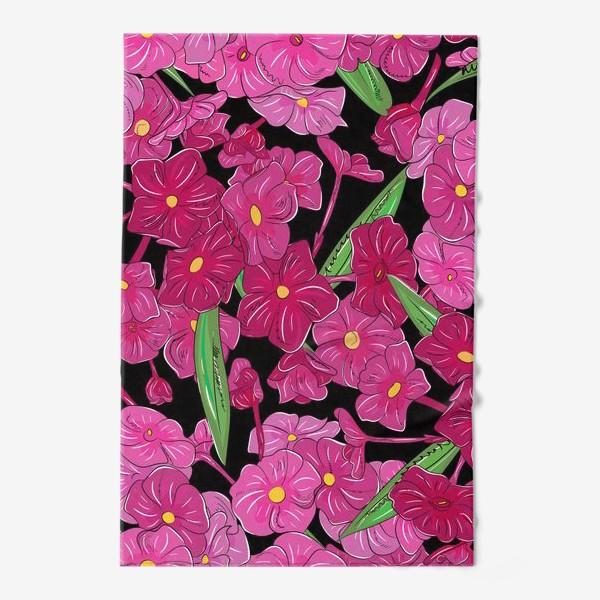 Полотенце «цветы флоксы»