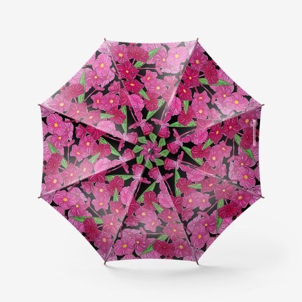 Зонт «цветы флоксы»