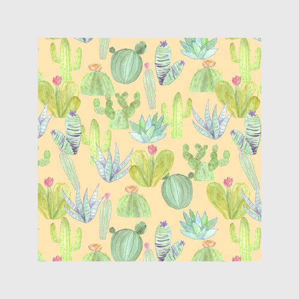 Скатерть «Кактусовый лес. Пустыня кактусов»