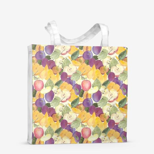 Сумка-шоппер «Фруктовый лес. Урожай фруктов»