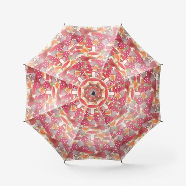 Зонт «Грибной лес. Поляна грибов»