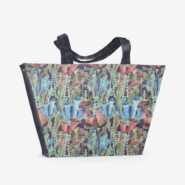 Пляжная сумка «Морской лес. Водоросли водоемов»