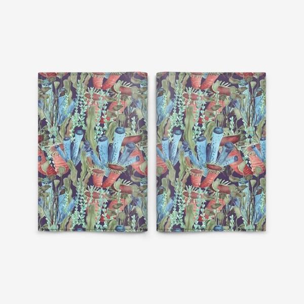 Обложка для паспорта «Морской лес. Водоросли водоемов»