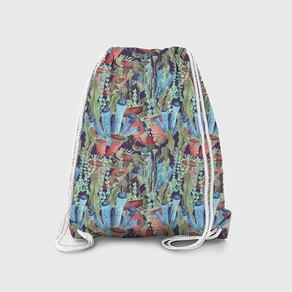 Рюкзак «Морской лес. Водоросли водоемов»