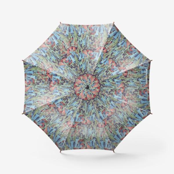 Зонт «Морской лес. Водоросли водоемов»