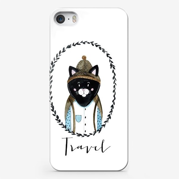 Чехол iPhone «Котей»