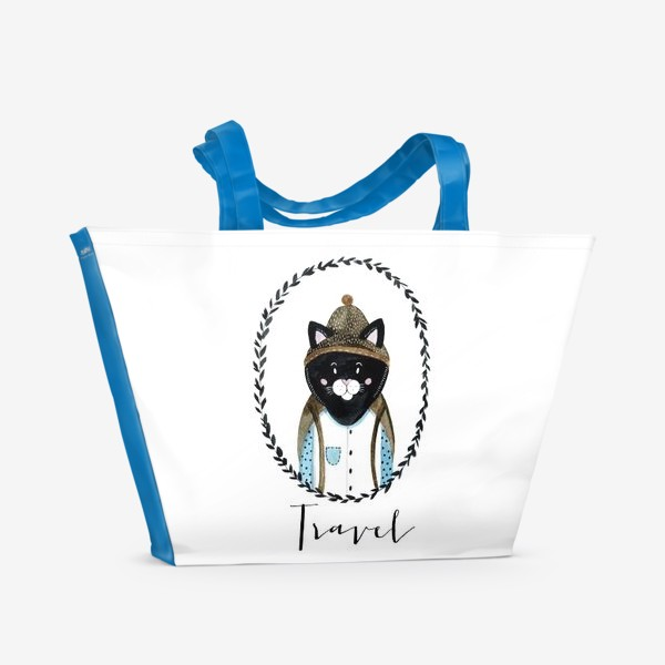Пляжная сумка «Котей»