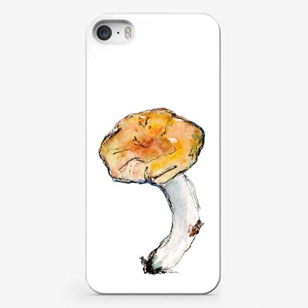 Чехол iPhone «Гриб. Мал, да удал!»