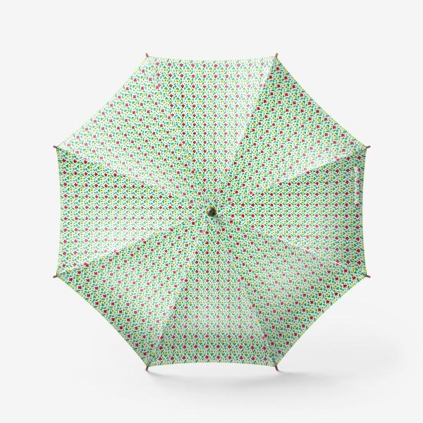 Зонт «Паттерн летний луг»