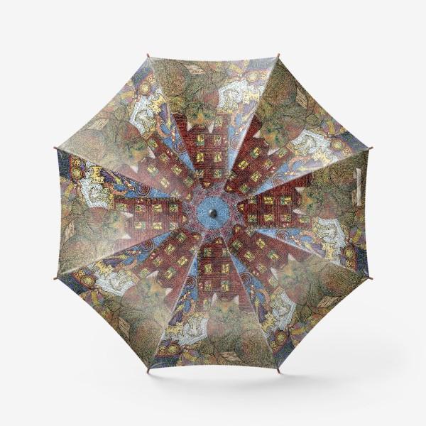 Зонт «Кот и Новый год»