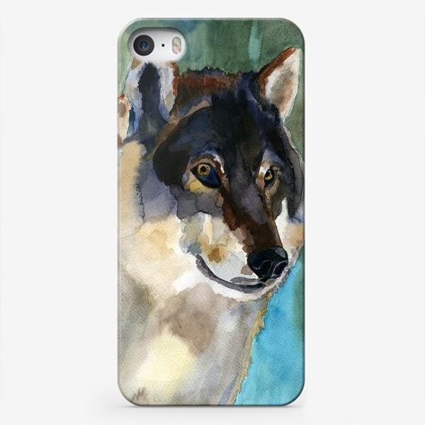 Чехол iPhone «волк»